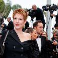 """Natacha Polony - Montée des marches du film """"Sibyl"""" lors du 72ème Festival International du Film de Cannes. Le 24 mai 2019 © Borde / Bestimage"""