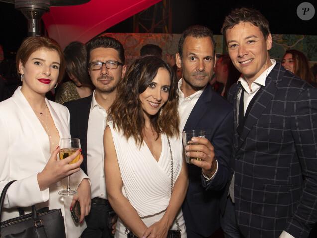 """Exclusif - Fabienne Carat et guest à la 10ème soirée de la """"Suite Sandra & Co"""" lors du 72ème Festival International du Film de Cannes. © Pierre Perusseau/Bestimage"""