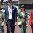 La princesse Alexandra de Hanovre et son compagnon Ben-Sylvester Strautmann dans les paddocks lors du 76ème Grand Prix de Formule 1 de Monaco, le 26 mai 2018. © Bruno Bebert/bestimage