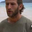 "Nicolas dans ""Koh-Lanta, la guerre des chefs"" vendredi 26 avril 2019 sur TF1."