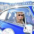 Alix Bénézech dans l'Alfa Romeo Giulia Sprint GT Veloce 1966 - RMC Découverte - Départ de la 20ème édition du Rallye des Princesses Richard Mille sur la place Vendôme à Paris, France, le 1er juin 2019. © Giancarlo Gorassini/Bestimage