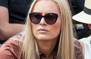 Lindsey Vonn : Passionnément amoureuse en tribunes à Roland-Garros