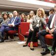 La première dame Brigitte Macron assiste à la 6 ème cérémonie de remise des prix Non au Harcèlement au ministère de l'Education, Paris, France, le 3 juin 2019. © Stéphane Lemouton / Bestimage