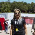 Manuel Valls et sa compagne Susana Gallardo au Grand Prix d'Espagne sur le circuit de Barcelone-Catalogne à Barcelone, Espagne, le 12 mai 2019.