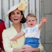 Kate Middleton et William: Louis, 13 mois, fait son show au balcon de Buckingham