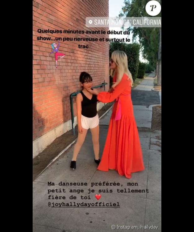 Laeticia Hallyday sur Instagram.