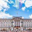 Image lors de la parade Trooping the Colour 2019 au palais de Buckingham, à Londres, le 8 juin 2019.