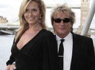 Rod Stewart : le défilé continue avec sa sculpturale épouse, Penny Lancaster ! So chic and lovely !