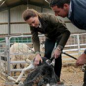 Kate Middleton : Look de baroudeuse à la ferme avec William