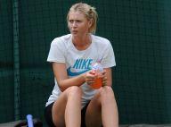 La jolie Maria Sharapova : la tête des mauvais jours, mais... sexy malgré tout !