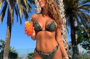 Jade Lagardère : Incendiaire en famille à Ibiza, des photos qui font rêver