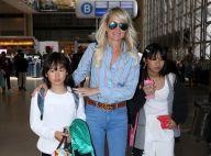 Laeticia Hallyday, Jade et Joy de retour en France pour Johnny