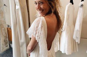 Laura Smet, son mariage religieux : en robe dos nu pour aller jusqu'à l'autel