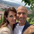 Zinedine Zidane et sa femme Véronique en mode selfie à Bilbao, le 16 juin 2019