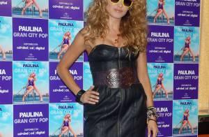 Paulina Rubio, la star mexicaine, fait la promo de son album... mais elle a oublié son élégance aux vestiaires !