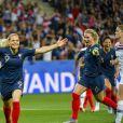 Eugénie Le Sommer lors de la Coupe du monde féminine de football, Groupe A, France vs Norvège à Nice, France, le 12 juin 2019. La France a gagné 2-1. © Pierre Perusseau/Bestimage