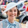 Kate Middleton, duchesse de Cambridge, au Royal Ascot le 18 juin 2019.