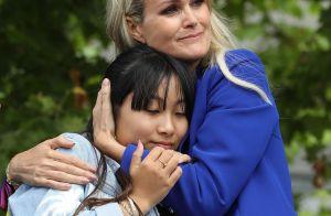 Laeticia Hallyday : Tendre étreinte avec Jade pendant un merveilleux pèlerinage