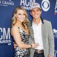 Le chanteur américain de country Granger Smith et sa femme Amber lors de la soirée des Amercican country music awards. Photo publiée sur Instagram le 8 avril 2019.