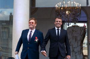 Elton John et Emmanuel Macron à l'Élysée : Fête de la Musique et poignant appel