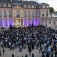 Illustration - Fête de la Musique au Palais de l'Elysée. Paris, le 21 juin 2019. © Xavier Popy / Pool / Bestimage