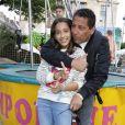 Smain et sa fille - Soirée d'inauguration de la 36ème Fête Foraine des Tuileries au Jardin des Tuileries à Paris. Le 21 juin 2019 © Marc Ausset-Lacroix / Bestimage