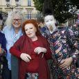 Pierre-Jean Chalençon, la chanteuse Régine - Soirée d'inauguration de la 36ème Fête Foraine des Tuileries au Jardin des Tuileries à Paris. Le 21 juin 2019 © Marc Ausset-Lacroix / Bestimage