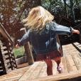La fille d'Antoine Griezmann en photo sur Instagram le 9 juin 2019.