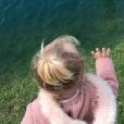 La fille d'Antoine Griezmann en photo sur Instagram le 8 avril 2018.