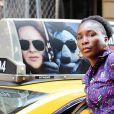 Venus Williams a été aperçue dans les rues de New York. La tennis woman est en ville pour faire la promotion de sa nouvelle ligne de vêtements 'EleVen By Venus', le 23 aout 2018.