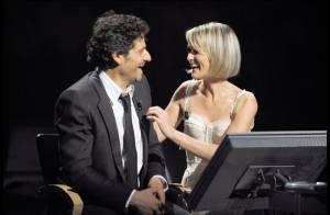 Quand la jolie Laeticia Hallyday et Pascal Elbé, complices et morts de rire... veulent gagner des millions !