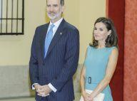 Letizia et Felipe d'Espagne émus à propos du cap que leur fille Leonor va passer