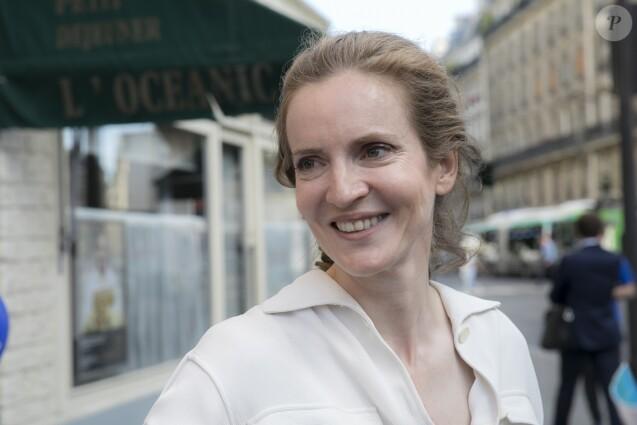 Nathalie Kosciusko-Morizet est partie chez Capgemini, la première entreprise de services du numérique en France. Elle travaille pour le groupe à New York et s'occupe de la cybersécurité dans les entreprises - Nathalie Kosciusko-Morizet (NKM) candidate aux élections legislatives dans la 2ème circonscription de Paris reçoit la visite et le soutien de Jean-Pierre Raffarin le 6 juin 2017. © Romuald Meigneux/Bestimage