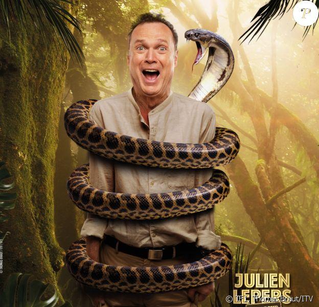 """Julien Lepers, photo officielle de """"Je suis une célébrité sortez-moi de là"""", sur TF1"""