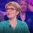 """Nagui ému par une histoire de la candidate Cathy, dans """"Tout le monde veut prendre sa place"""", le 2 juillet 2019, sur France 2"""