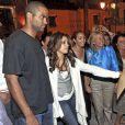 Eva Longoria et Tony Parker recontre la troupe de flamenco, après le spectacle