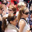 Eva Longoria a su rester simple. Malgré son rang de star, elle se mêle à la foule