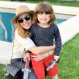 Elodie Piège et son fils Antoine - le 26 mai 2019