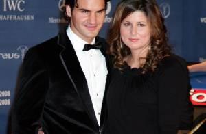 En pleine grossesse, Mirka, la femme de Roger Federer, a manqué la victoire de son champion !