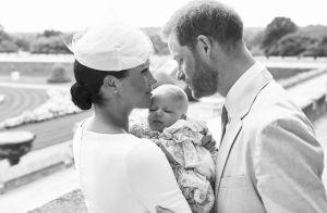 Meghan, Harry et le baptême d'Archie : les photos (déjà) dévoilées, mais...