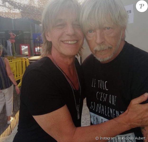 Jean-Louis Aubert et Renaud se retrouvent à Vaison-la-Romaine, vendredi 5 juilet 2019, pour le concert du premier.
