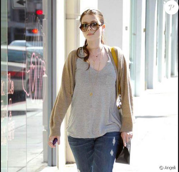 Michelle Trachtenberg à Beverly Hills, le 24 juin 2009