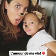 Chloé Mortaud bientôt séparée quelques jours de son fils, le 8 juin 2018 à Paris.