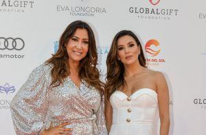 Eva Longoria : Mannequin d'un jour devant son bébé et son mari