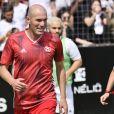 Zinédine Zidane lors de la grande finale de la Z5 Cup à Aix-en-Provence, France, 23 juin 2019. Après avoir traversé 12 villes qui auront vu plus de 250 équipes tenter leur chance dans les complexes Z5 et Le Five en France, Outremer, en Italie et en Espagne, aura lieu au Z5 d'Aix-en-Provence, la grande finale de la Z5 Cup. Le 23 juin est aussi l'anniversaire de Z.Zidane et le jour du lancement du tout premier Z5 à Aix en 2011. Au programme de cette grande fête du foot à cinq, le plateau final des 24 équipes, des animations pour tous les âges, tournoi enfants, ateliers culinaires, etc... © Norbert Scanella/Panoramic/Bestimage