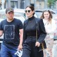 """Lily Aldridge se rend au restaurant """"Sant Ambroeus"""" à New York, le 3 juin 2019."""