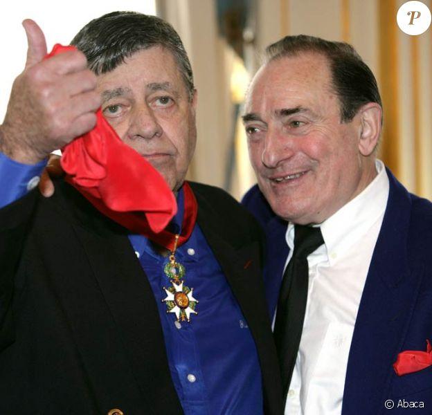 Pierre Etaix et son ami Jerry Lewis