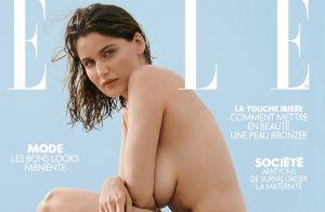 Laetitia Casta : Entièrement nue et sublime en couverture de magazine