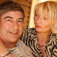 Exclusif - Patrice Drevet et son épouse Corinne, à Pézenas, le 6 octobre 2008.