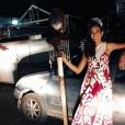 Vaimalama Chaves à Tahiti, le 22 juin 2018